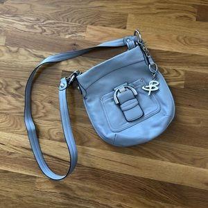 B. Makowsky Leather Crossbody Bag